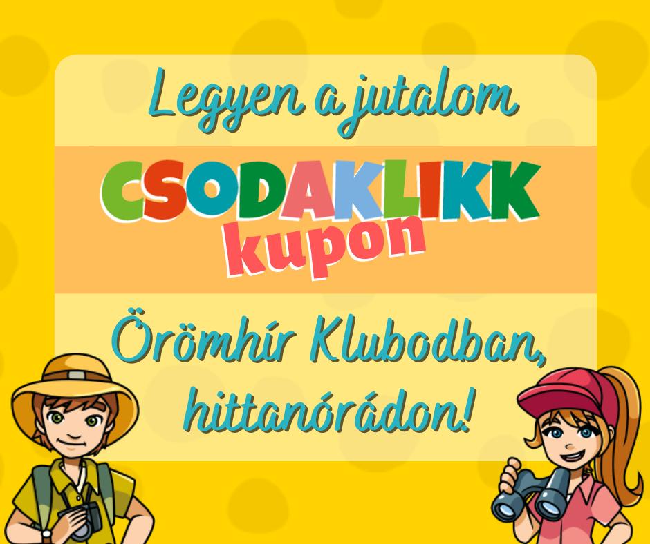 CSK kupon reklám
