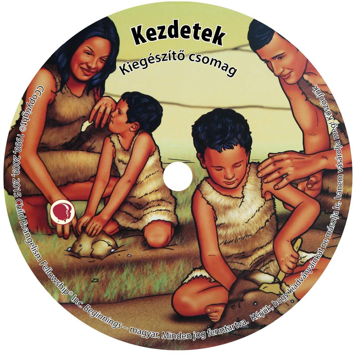 Kezdetek kieg CD borító
