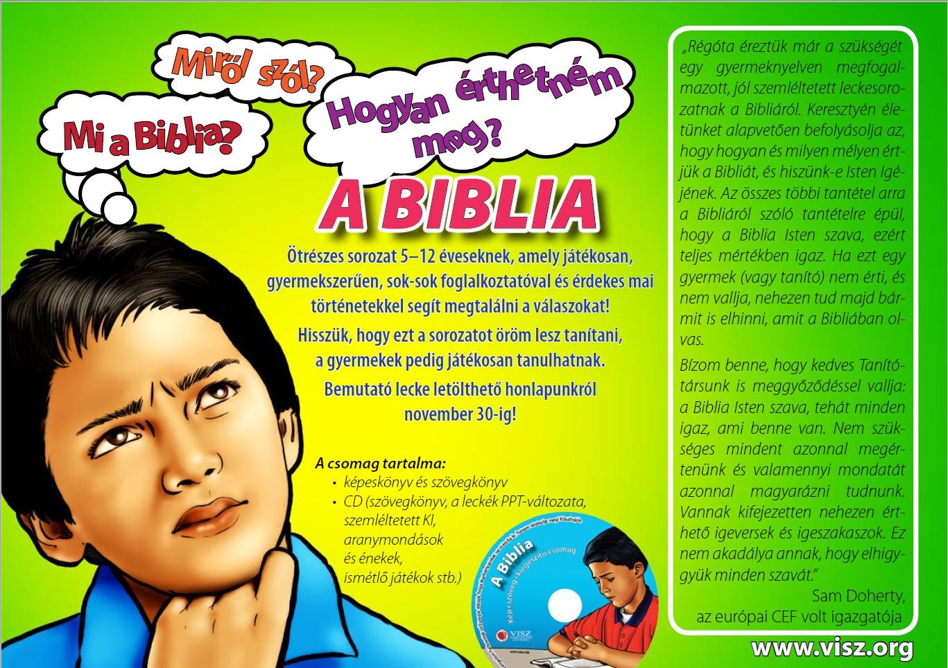 A Biblia reklam