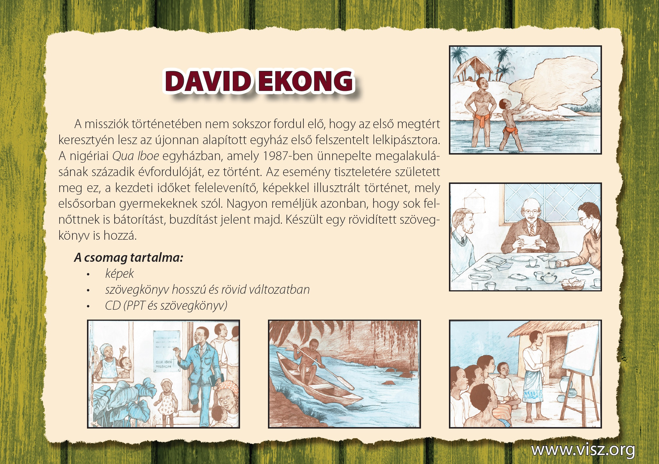 David Ekong reklám