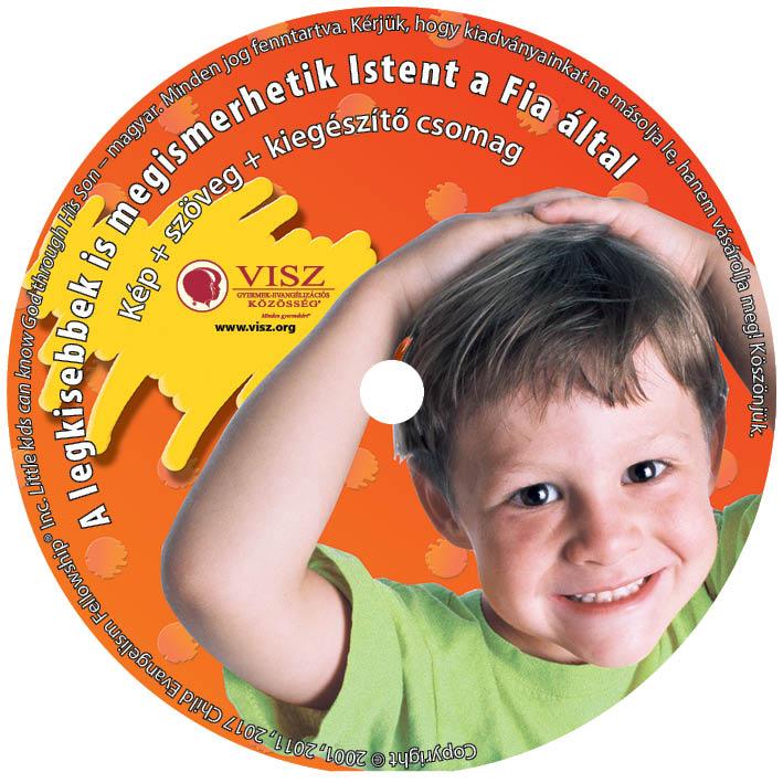 A legkisebbek is megismerhetik Istent a Fia által CD cimke