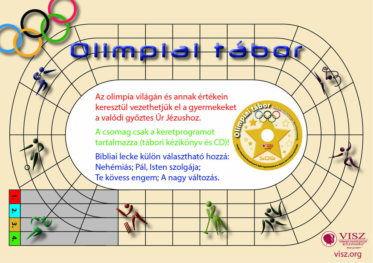 olimpiai tábor reklám